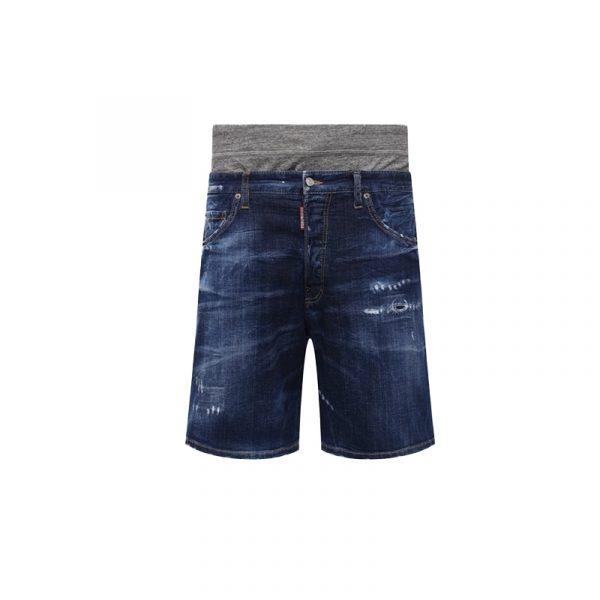 DSQUARED2 JEAN SHORT S74MU0634-S30342-470 DENIM BLUE
