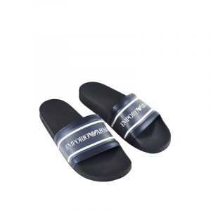 EMPORIO ARMANI SLIPPERS  X4PS05-XM355-00285 NAVY BLUE