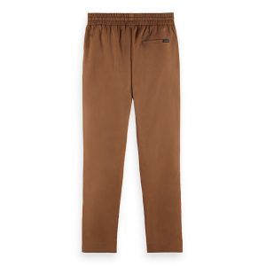 SCOTCH & SODA FAVE- LIGHTWEIGHT CHINO IN JOGGER STYLING ΠΑΝΤΕΛΟΝΙ 162288-0137-SAND