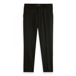 SCOTCH & SODA FAVE REGULAR TAPERED-FIT CHINO ΠΑΝΤΕΛΟΝΙ 163249-0008-BLACK