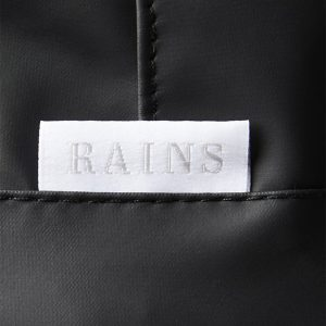 RAINS BUCKET HAT 2001-BLACK
