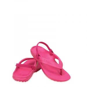 CROCS CLASSIC FLIP K 202871-6X0 RELAXED FIT CANDY PINK