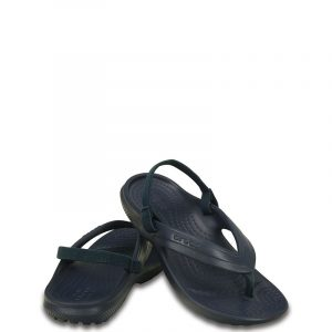 CROCS CLASSIC FLIP K 202871-410 RELAXED FIT NAVY