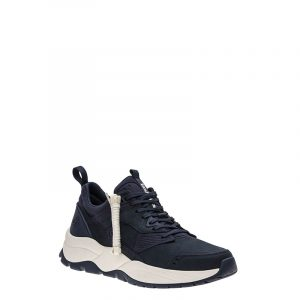 TIMBERLAND TREE RACER LEATHER SNEAKERS TB0A2N94-L42-DARK TOTAL ECLIPSE