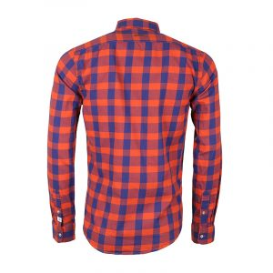 SCOTCH AND SODA BRUSHED COTTON SHIRT 101417-2C BLUE/RED