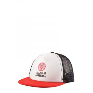 FRANKLIN AND MARSHALL CAP CPUA944ANS19-FIRE RED