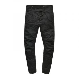 G-STAR RAW ROVIC DC TAPERED CUFFED CARGO PANTS D07410-868-990-81 BLACK