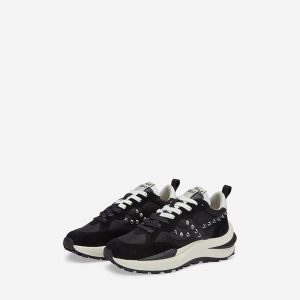 ASH SPIDER 620 STUDS COMBO A ΠΑΠΟΥΤΣΙ SNEAKERS FW21-S-135641-001-BLACK/RPET NYLO