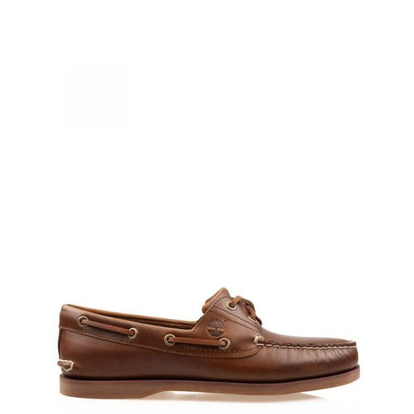TIMBERLAND CLASIC BOAT SHOES MD TB-0A232X-F74-BROWN