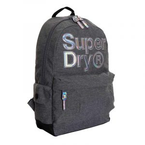SUPERDRY HOLO INFILL MONTANA BACKPACK W9100007A-07Q GREY MARL