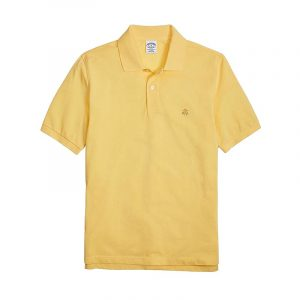 BROOKS BROTHERS POLO 00012416-073 YELLOW