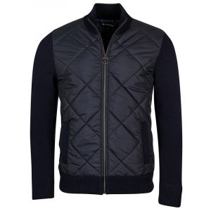 BARBOUR ARCH DIAMOND QUILT KNIT ΜΠΟΥΦΑΝ MKN1350-NY91-NAVY