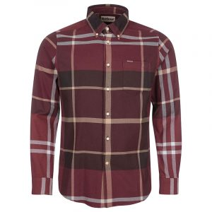 BARBOUR DUNOON TAILORED ΠΟΥΚΑΜΙΣΟ MSH4980-RE89-WINDER RED