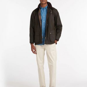 BARBOUR CLASSIC BEDALE WAX JACKET ΜΠΟΥΦΑΝ MWX0010-OL71-OLIVE